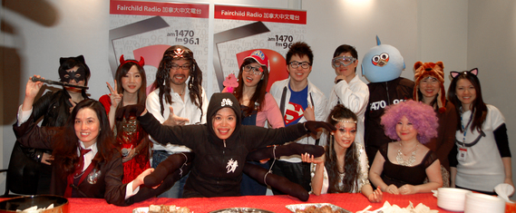 電台舉辦 Halloween Costume Party, DJ 們攪盡腦汁鬥搶鏡搏出位,who are the winners??
