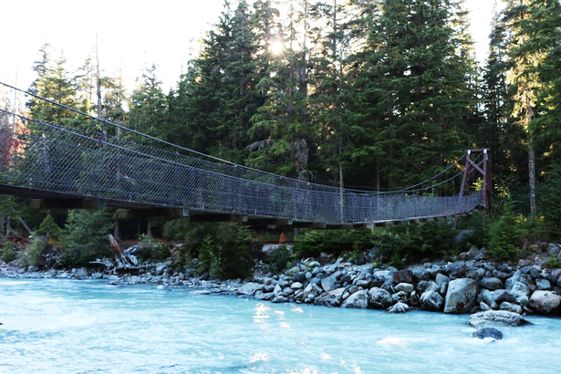 CAL-CHEAK SUSPENSION BRIDGE