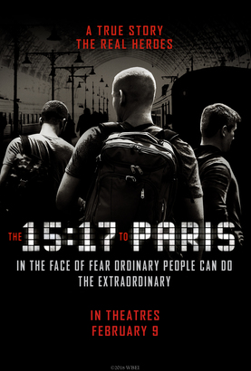 Movie 請你看好戲《THE 15:17 TO PARIS》