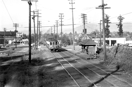 1950 年 Kingsway 與 Boundary Road 交界,現今已面目全非。(City of Vancouver Archives)