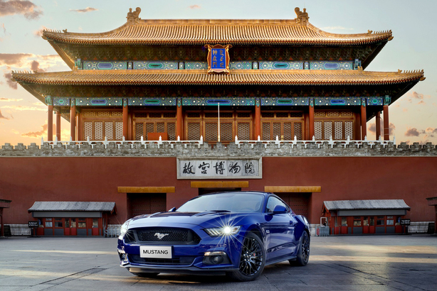 Mustang 是全球最暢銷轎跑車系列。(Photo from Ford)