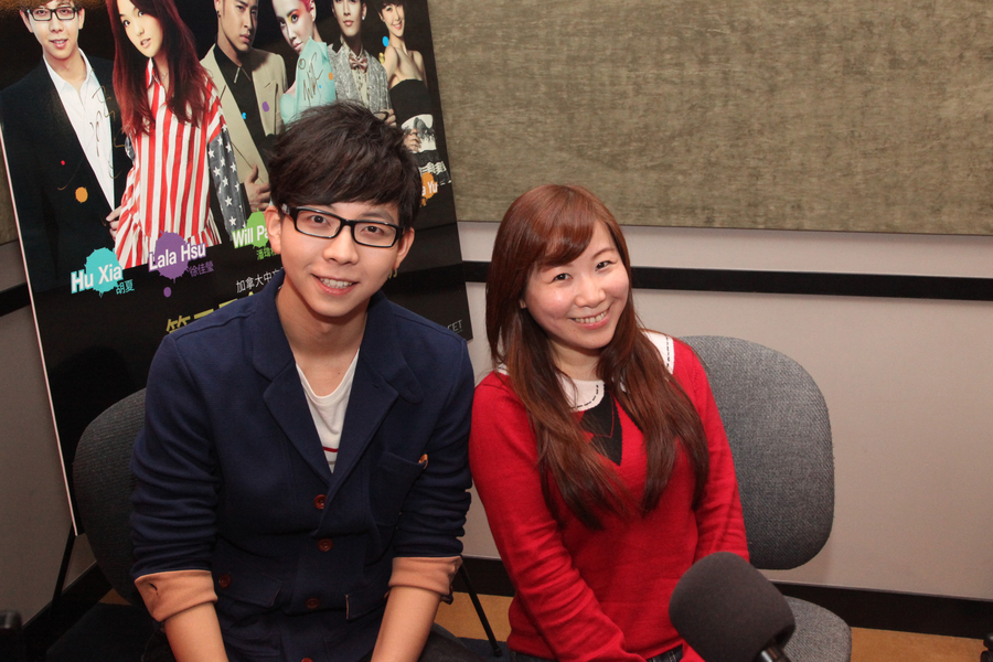 GCGC 胡夏 @ Fairchild Radio FM96.1.