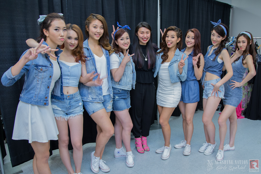 Sunshine Nation (Girlz SpeXial) Behind-the-scenes